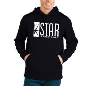 star labs the flash hoodie