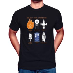 select your ship t shirt