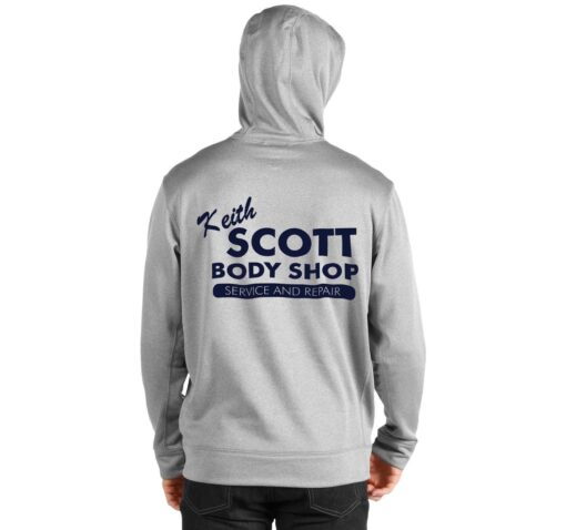 Keith Scott Body Shop One Tree Hill Hoodie