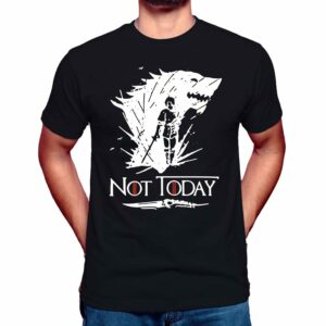 Arya Stark Not Today T Shirt Game of Thrones