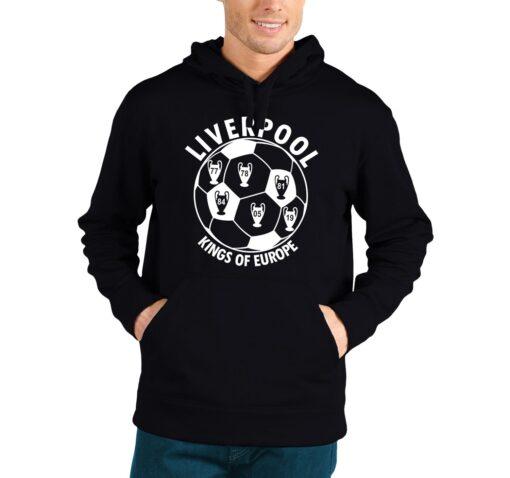 Liverpool FC Kings of Europe hoodie
