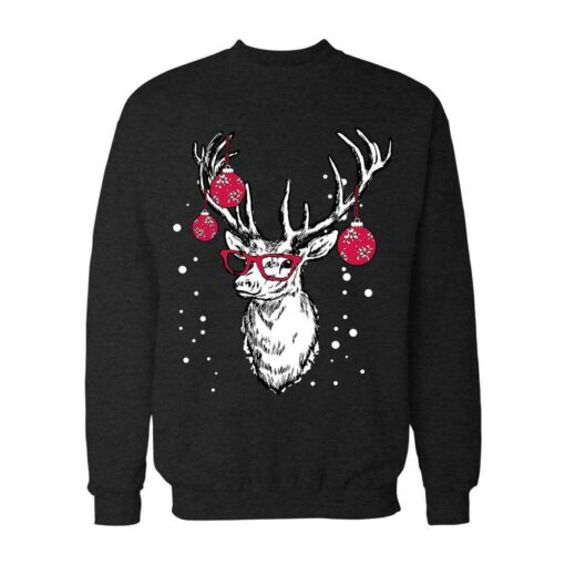 Professor Reindeer Christmas Sweatshirt