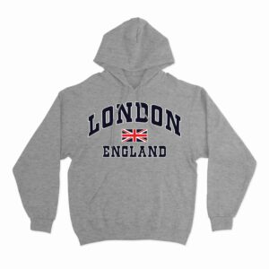 london england union jack hoodie