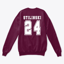 beacon hills lacrosse stilinski 24 sweatshirt