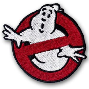 Embroidered Ghostbusters Iron On Patch Badge
